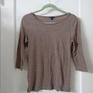 *4/$20 Gap 3/4 sleeve T shirt